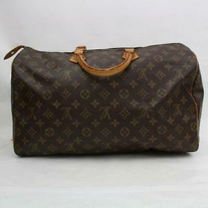 Authentic Vintage Louis Vuitton Monogram Speedy 40